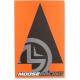 Indicatoare Moose Racing traseu negru-portocaliu